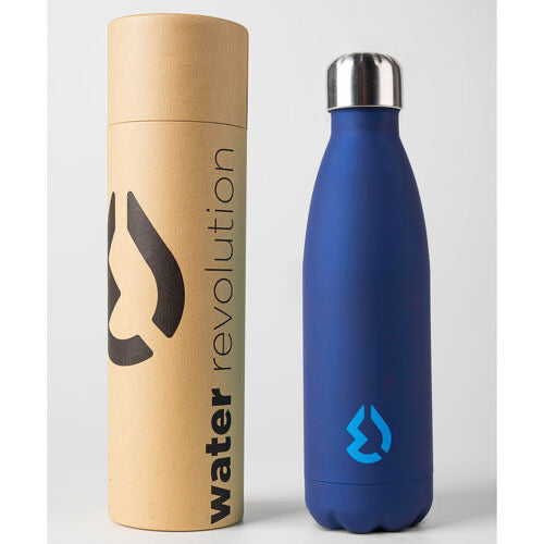 Water Revolution Blue water bottle 500ml