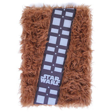 Load image into Gallery viewer, Star Wars Chewbacca A5 plush notebook