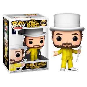 Funko POP figure Its Always Sunny in Philadelphia Charlie as The Dayman