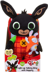 LIGHT UP TALKING BING WITH HOPPITY SOFT TOY