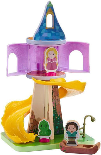 Disney Princess World of Wooden Toys Rapunzel Tower Playset