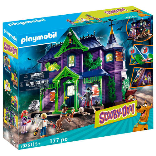 Playmobil Scooby-Doo! Mystery Mansion Adventure
