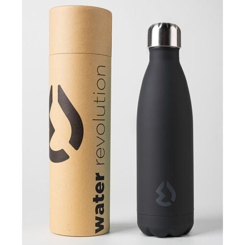 Water Revolution Black water bottle 500ml