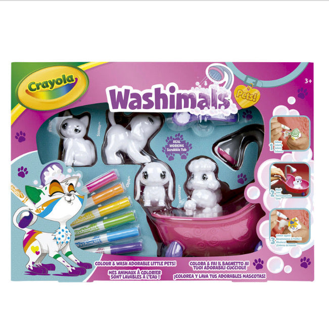 Crayola Washimals Set