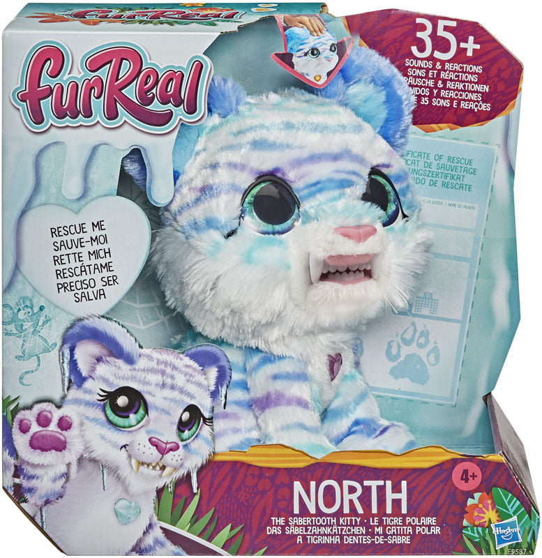 Furreal North the Sabretooth Kitty