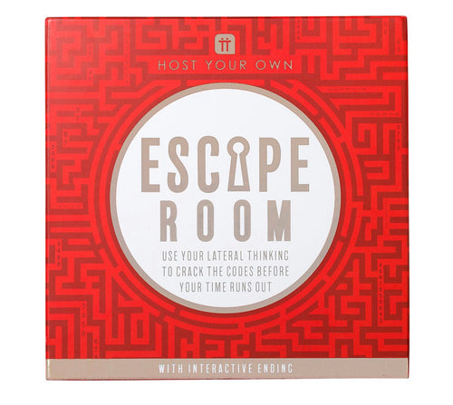 Talking Tables  Host Your Own Escape Room Red