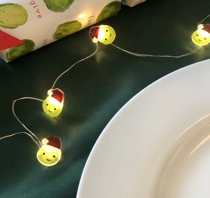 Festive Sprout String Lights