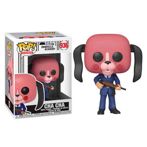 Funko POP figure Umbrella Academy Cha Cha with mask