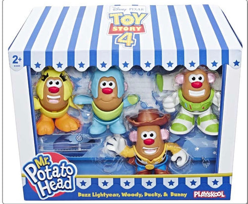 Toy Story 4 Mr Potato Head Mini 4 Pack