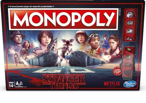 Hasbro Stranger Things Monopoly Game