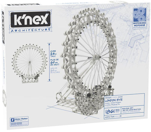 K'nex Architecture London Eye Building Set