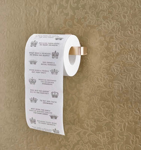 Christmas Entertainment Royal Jokes Toilet Roll