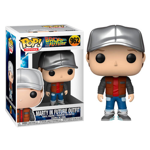 Funko POP figure Back To The Future Marty in Future Outfit