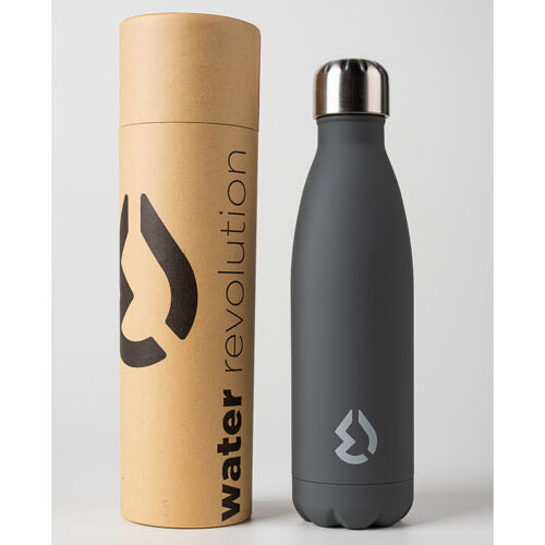 Water Revolution Grey water bottle 500ml