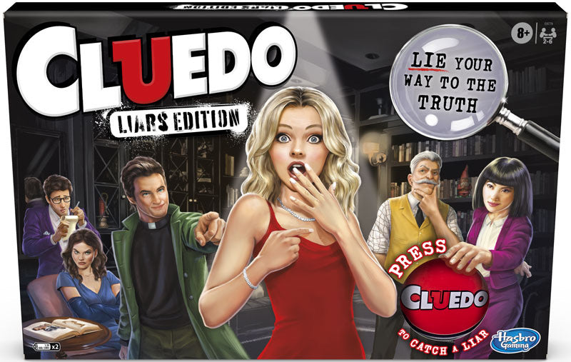 Hasbro Cluedo Liars Edition Game