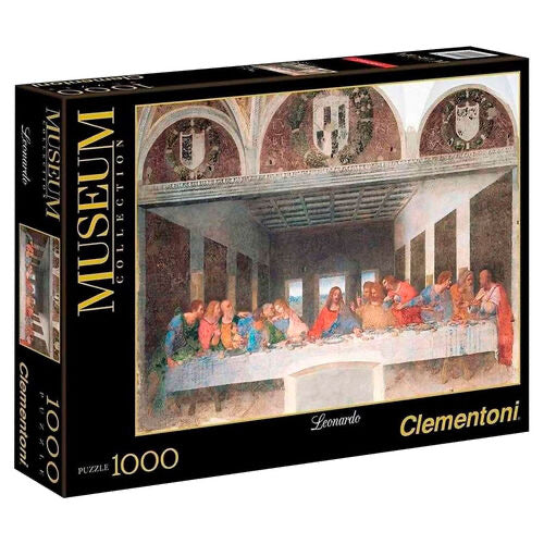 Museum Collection Leonardo The Last Supper puzzle 1000pcs
