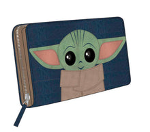 Load image into Gallery viewer, Star Wars The Mandalorian Baby Yoda The Child wallet purse
