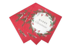 Talking Tables Botanical Berry Napkins Pack of 20