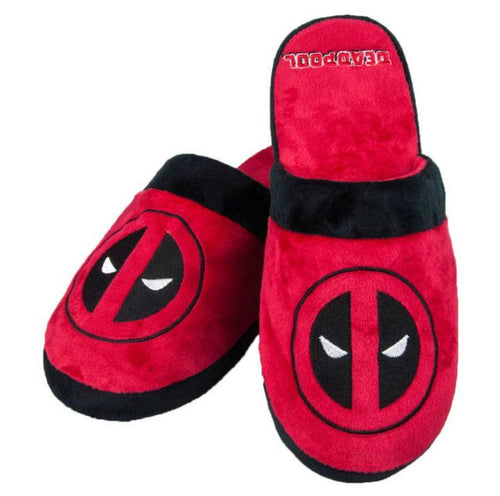 Marvel Deadpool Mens Slippers
