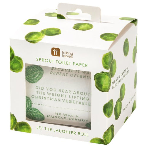 Novelty Joke Sprout Toilet Roll