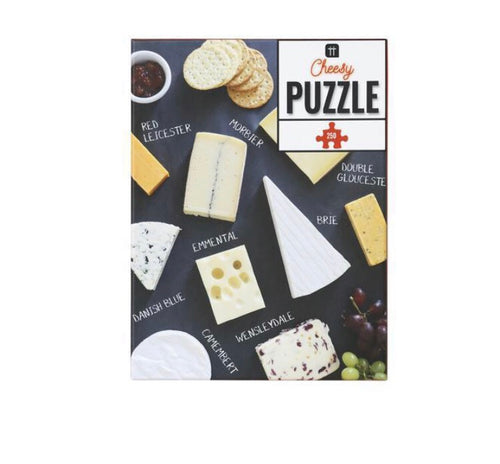 Talking Tables Christmas Entertainment Cheese Puzzle