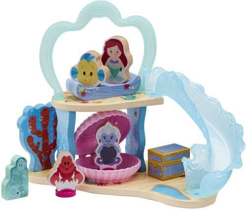 Disney Princess World of Wooden Toys Ariel's Grotto Playset