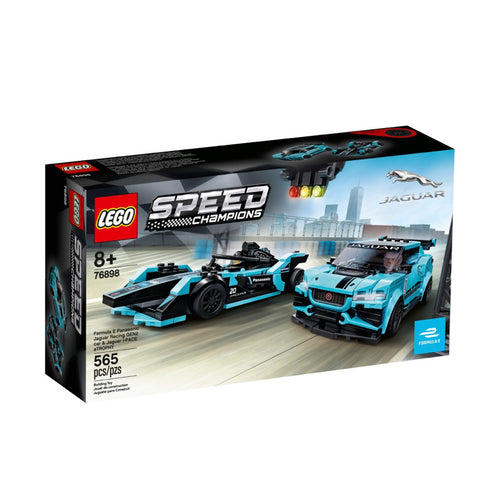 Lego Speed Formula E Panasonic & I-pace etrophy Jaguar (76898)