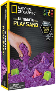 National Geographic Purple Play Sand