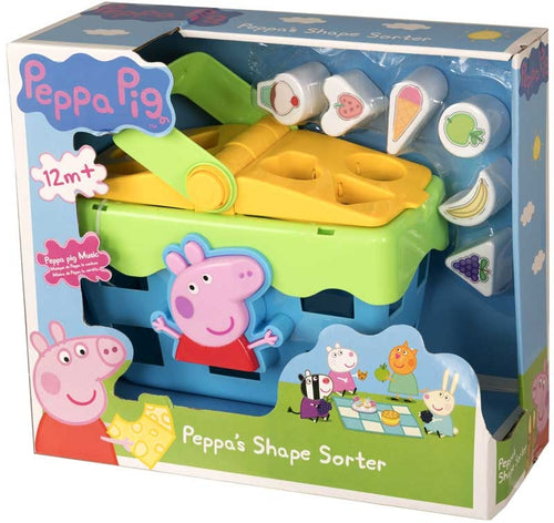 Peppa Pig Shape Sorter Picnic Set