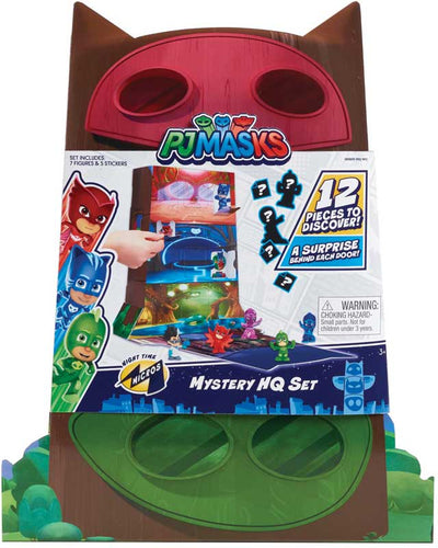 Pj Masks Night Time Micros Mystery Hq