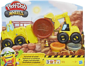 Play Doh Excavator N Loader