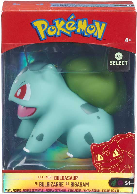 Pokemon 4 Inch Vinyl Figures - Bulbasaur