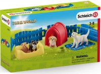 Load image into Gallery viewer, Schleich Puppy Pen