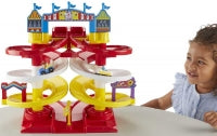 Load image into Gallery viewer, Toy Story 4 Carnival Spiral Speedway Playset