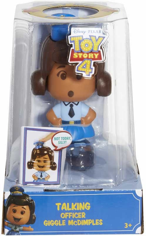 Toy Story 4 Silly Companion Talking Officer Giggle McDimples