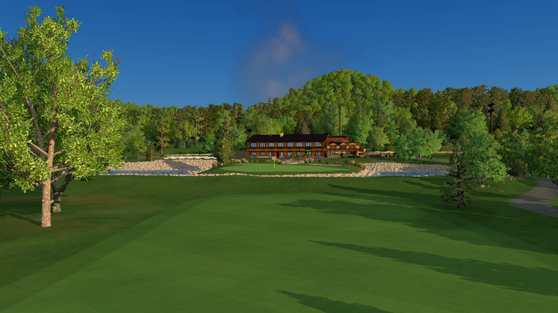 Cedar Valley Golf Course - FSX 2018 Course