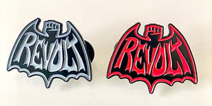 REVOLT pins!Set of two for 19.99