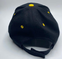 Load image into Gallery viewer, Black Brush Denim Baseball hat
