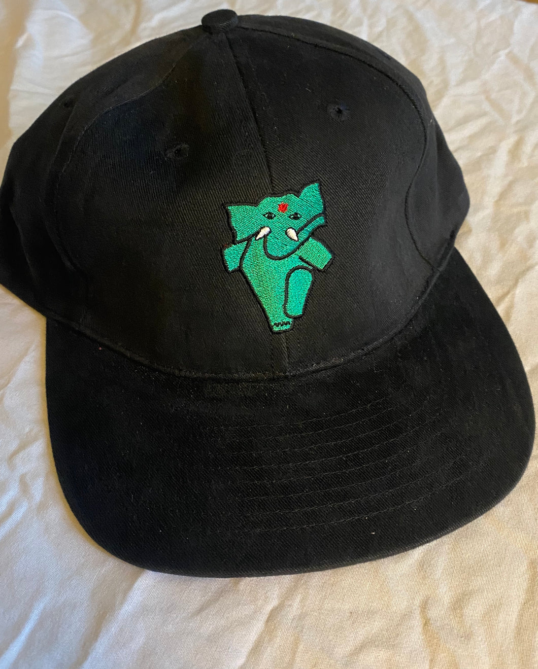 RARE green Appa on black hat