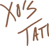 Tati Signature as X's and O's