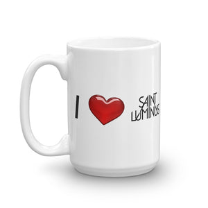 I Heart Saint Luminus Coffee Mug
