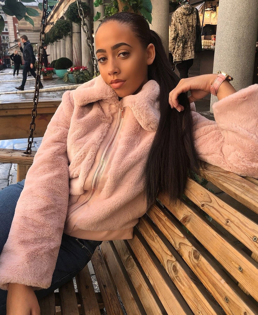 Faux Fur Jacket keeps you on trend this year