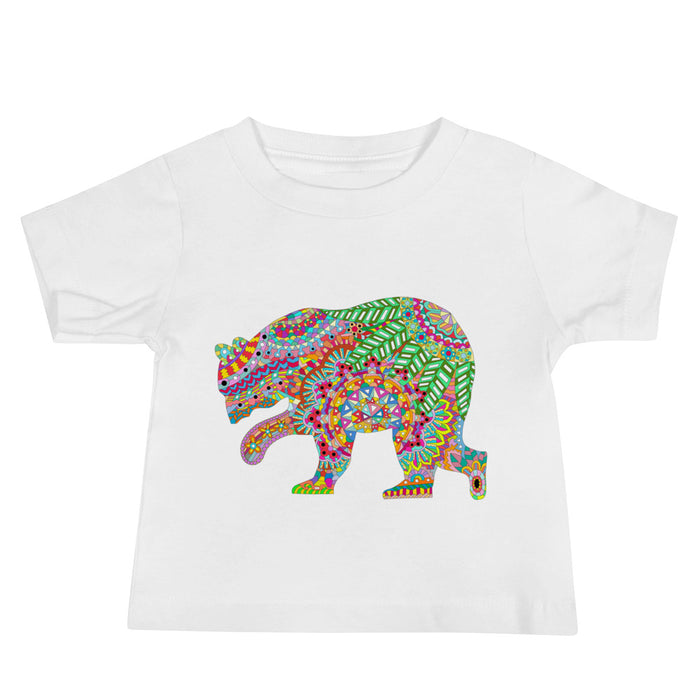 Colourful Bear Baby T-Shirt