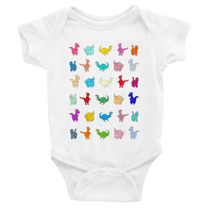 DINOSAUR INFANT BODYSUIT