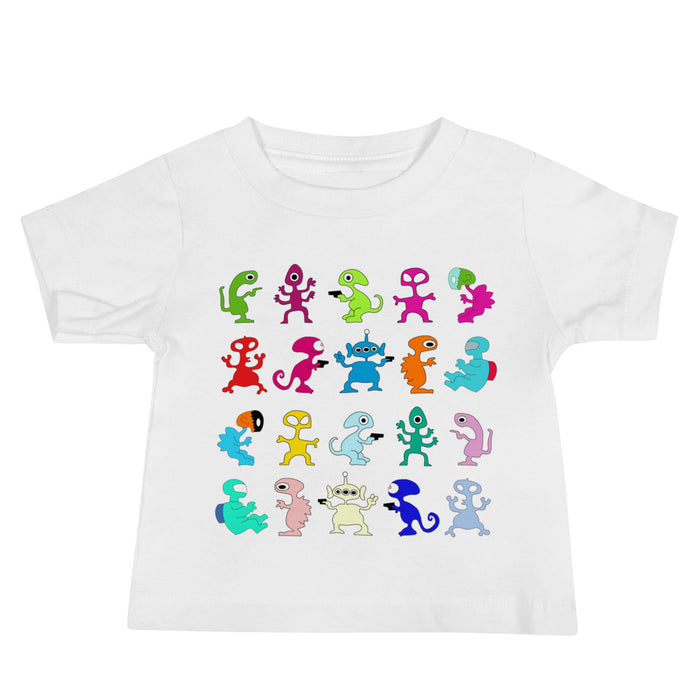 ALIEN BABY JERSEY SHORT SLEEVE T-SHIRT