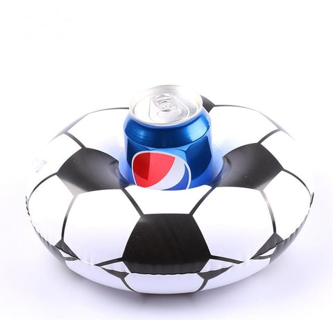 Inflatable Pool Coaster: Soccer Ring