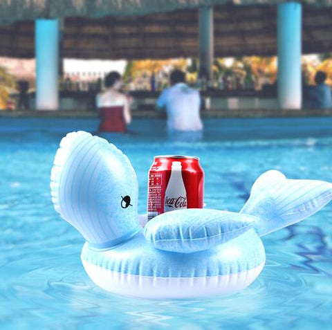 Inflatable Pool Coaster: Blue Whale