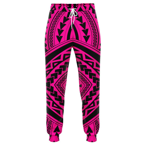 Image of Polynesian Tradition Pink Joggers