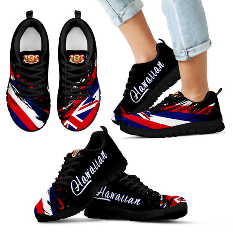 Hawaii Flag Sneakers Tradition - Art Style - AH - J1 - Alohawaii