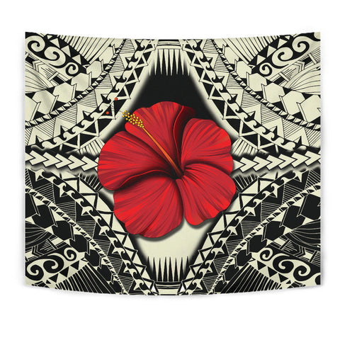 Hawaii Hibiscus Culture Polynesian Tapestry